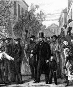Abraham Lincoln in Richmond